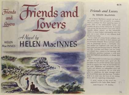 Dust Jackets - Friends and Lovers, by He