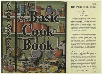 Dust Jackets - The Basic Cookbook, by Ma