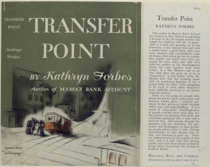 Dust Jackets - Transfer Point, by Kathry