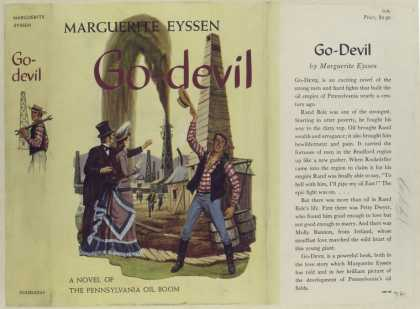 Dust Jackets - Go - Devil, by Marguerite