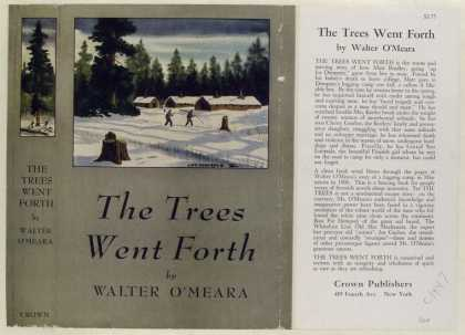 Dust Jackets - The Trees Went Forth, by
