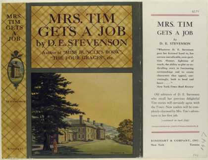 Dust Jackets - Mrs. Tim gets a Job, by D