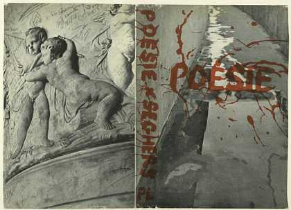 Dust Jackets - Poesie, edited with an in