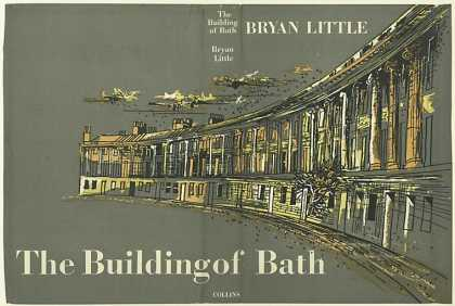 Dust Jackets - The Building of Bath, by