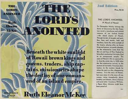 Dust Jackets - The Lord's anointed.