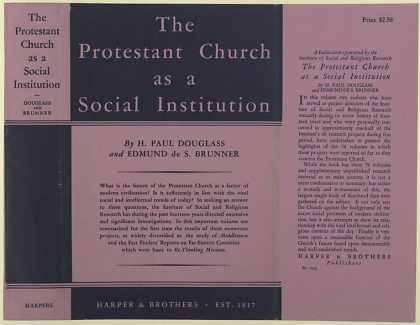 Dust Jackets - The Protestant church as