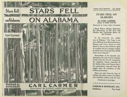 Dust Jackets - Stars fell on Alabama.