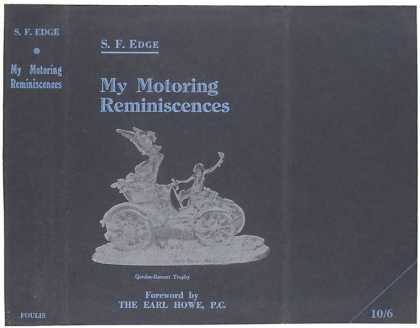 Dust Jackets - My motoring reminiscences