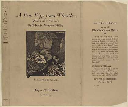 Dust Jackets - A few figs from thistles