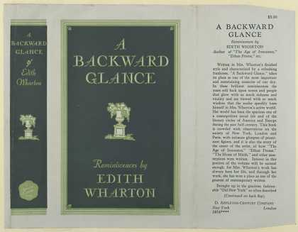 Dust Jackets - A backward glance.