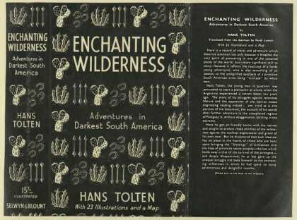 Dust Jackets - Enchanting wilderness, ad