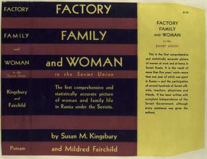 Dust Jackets - Factory, family, and woma