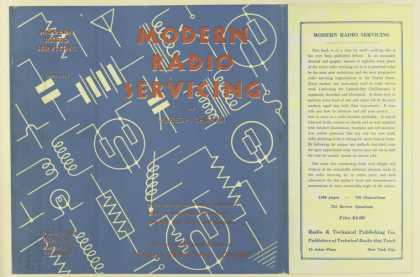 Dust Jackets - Modern radio servicing /