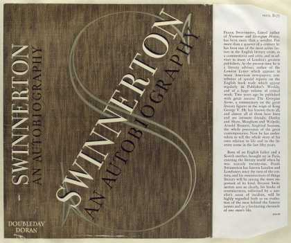 Dust Jackets - Swinnerton, an autobiogra
