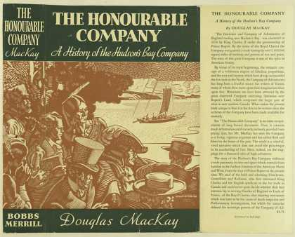 Dust Jackets - The honourable company :