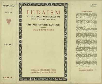Dust Jackets - Judaism in the first cent