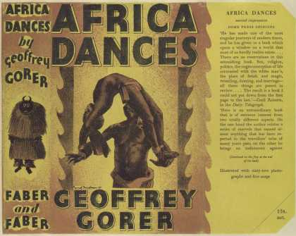 Dust Jackets - Africa dances / by Geoffr