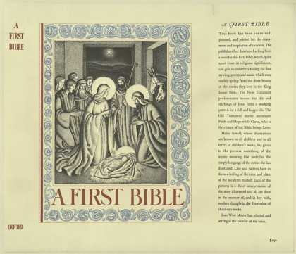 Dust Jackets - A first Bible : / illustr