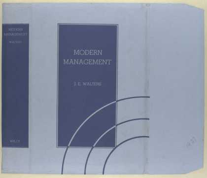 Dust Jackets - Modern management / by J.