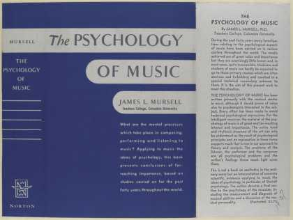 Dust Jackets - The psychology of music /