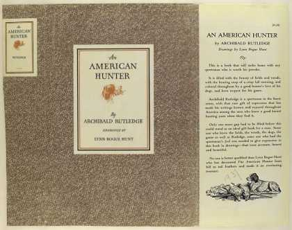 Dust Jackets - An American hunter / by A