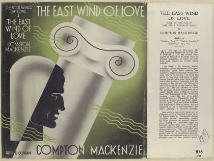 Dust Jackets - The east wind of love / C