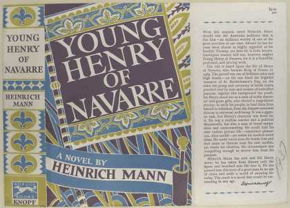 Dust Jackets - Young Henry of Navarre :