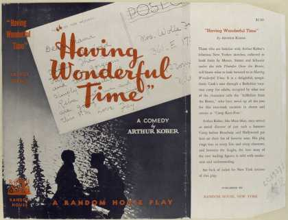 Dust Jackets - 'Having wonderful time' /