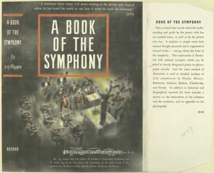 Dust Jackets - A book of the symphony /