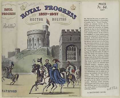 Dust Jackets - Royal progress : 1837-193