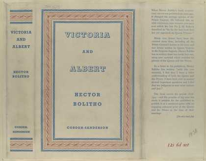 Dust Jackets - Victoria and Albert / Hec