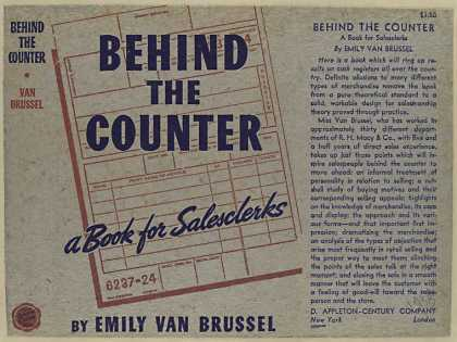 Dust Jackets - Behind the counter : a bo