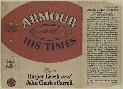 Dust Jackets - Armour and his times / by