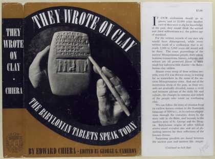 Dust Jackets - They wrote on clay : the