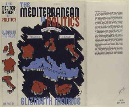 Dust Jackets - The Mediterranean in poli