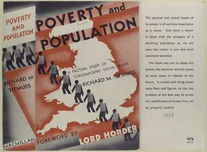 Dust Jackets - Poverty and population a