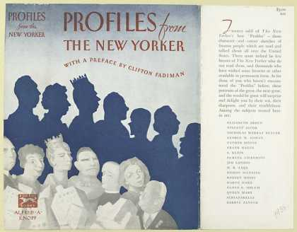 Dust Jackets - Profiles from the New Yor