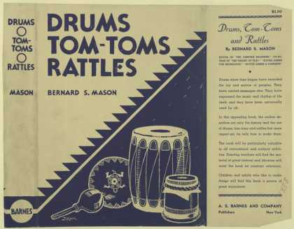 Dust Jackets - Drums, tom-toms and rattl