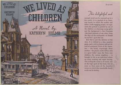 Dust Jackets - We lived as children : a