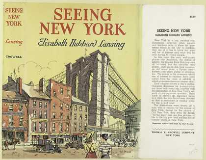 Dust Jackets - Seeing New York / by Elis