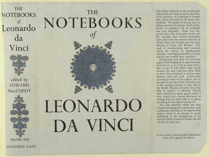 Dust Jackets - The notebooks of Leonardo