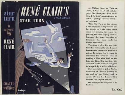 Dust Jackets - Star turn / René Clair.