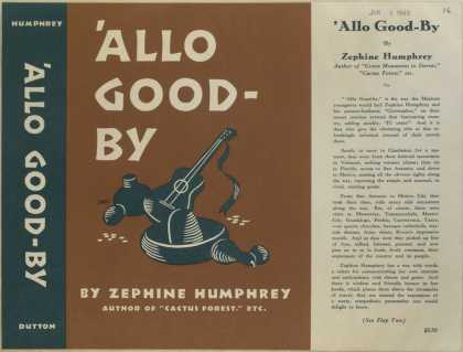 Dust Jackets - 'Allo good-by / by Zephin
