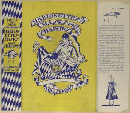 Dust Jackets - Marionettes, masks and sh