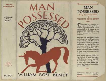 Dust Jackets - Man possessed being the
