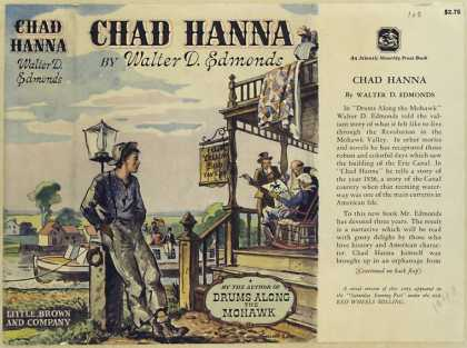 Dust Jackets - Chad Hanna.