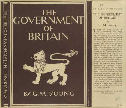 Dust Jackets - The government of Britain