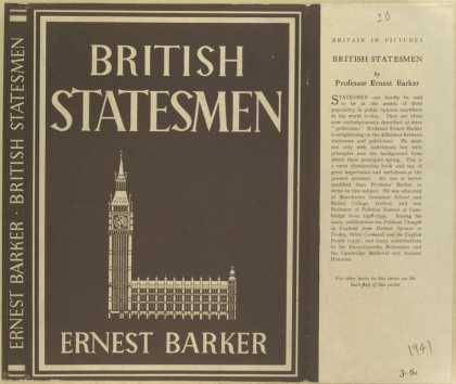 Dust Jackets - British statesmen.