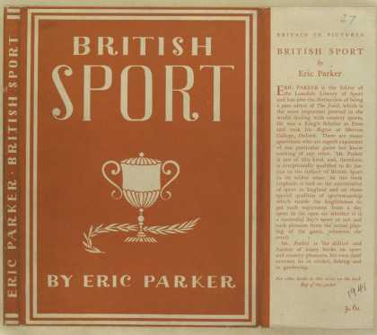 Dust Jackets - British sport.