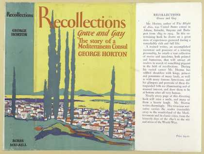 Dust Jackets - Recollections grave and g